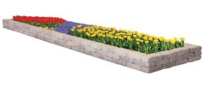 Belgin rectangle flower bed