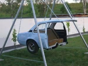 car swing