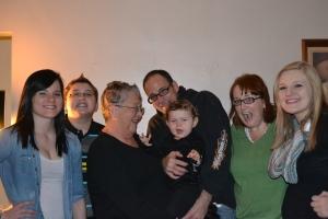 me and mom's grandkids